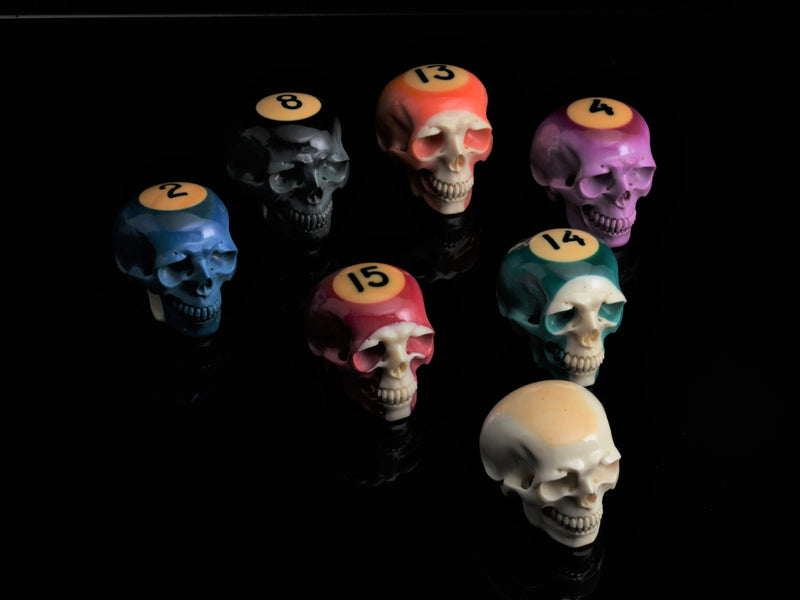 Australian Billiard Skulls-Gifts-Lee Downey-Comstock Heritage, Inc.
