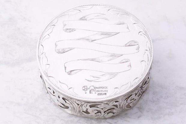 Sterling Silver Wine Coaster