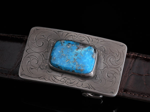 Mason Austin with Turquoise - Comstock Heritage, Inc.