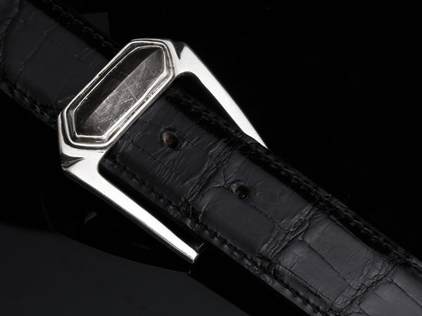 Gibeon Meteorite Buckle & Belt Set