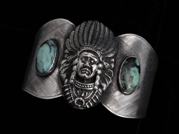 Ute Chieftan Cuff, Two Ways - Comstock Heritage, Inc.