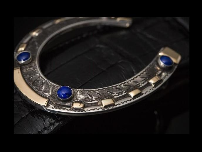 AT50 Lapis, Sterling or 14k Gold - Comstock Heritage, Inc.