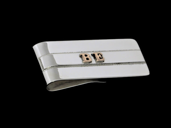The Understated Initial Money Clip - Comstock Heritage, Inc.