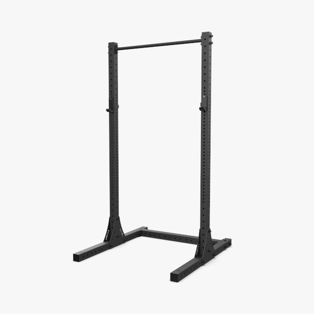 XF 80 Half Rack with Pull-Up, J-Cups - Black