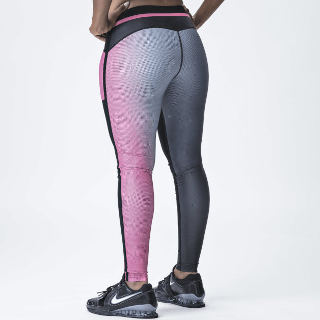Elevate Tights, Women <br>Solar Pink