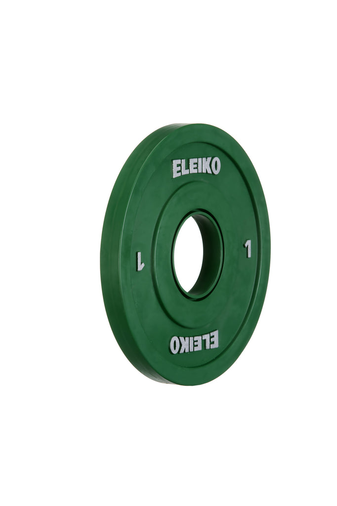 DEMO Eleiko IWF Olympic Weightlifting Competition Change Plates, Friction Grip