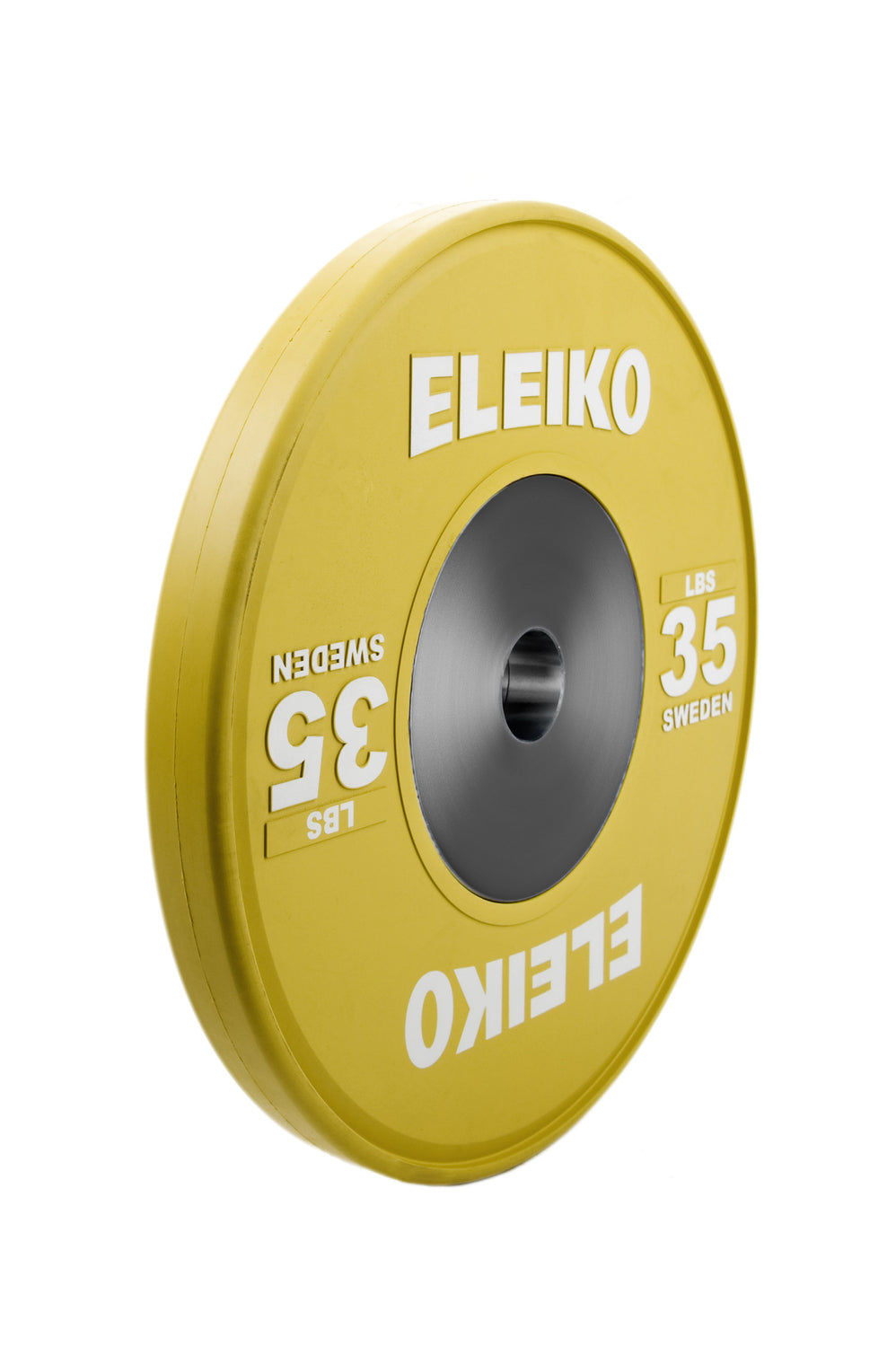 DEMO -  Eleiko Olympic Weightlifting Training Disc, colored, LBS