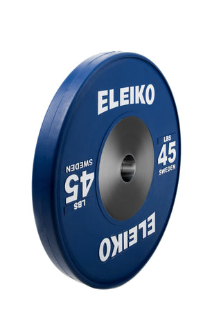 NPGL -  Eleiko Olympic Weightlifting Training Disc, colored, LBS