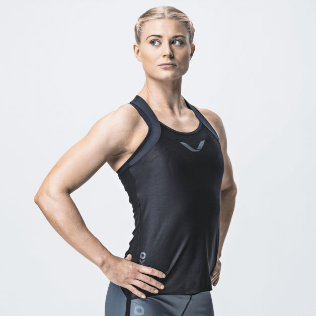 Elevate Tank Top, Women <br>Sky Black