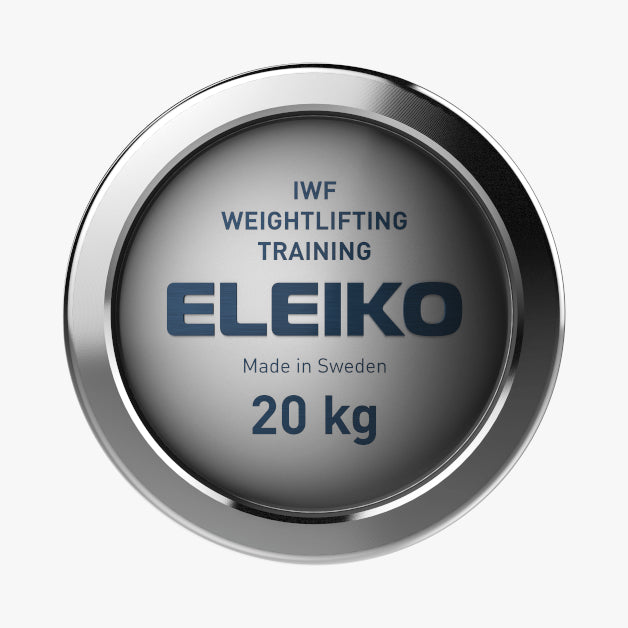 Eleiko IWF Weightlifting<br>Training Bar, 20kg Men