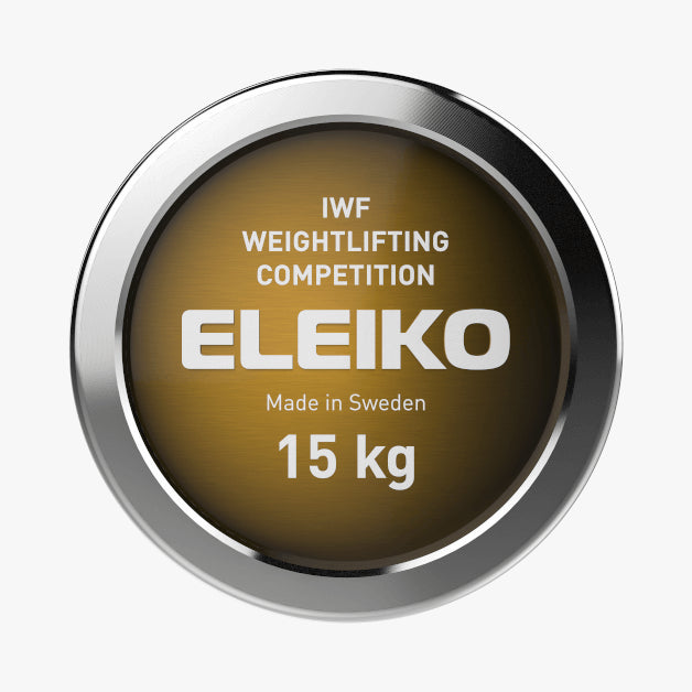 Eleiko IWF Weightlifting<br>Competition Bar, NxG 15kg Women