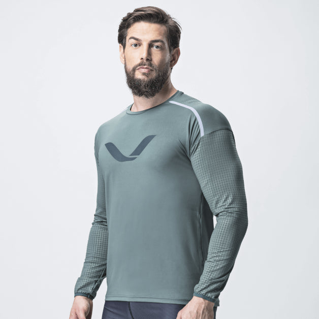 Grip T-Shirt LS <br> Mist Green