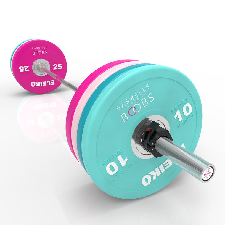 SPECIAL EDITION BARBELLS FOR BOOBS <br>ELEIKO PERFORMANCE SET