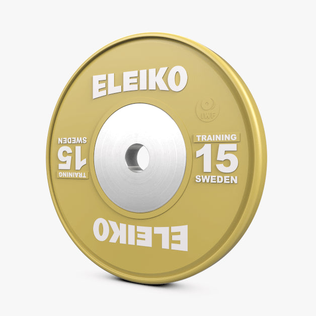 DEMO - ELEIKO IWF WEIGHTLIFTING TRAINING DISCS , KG