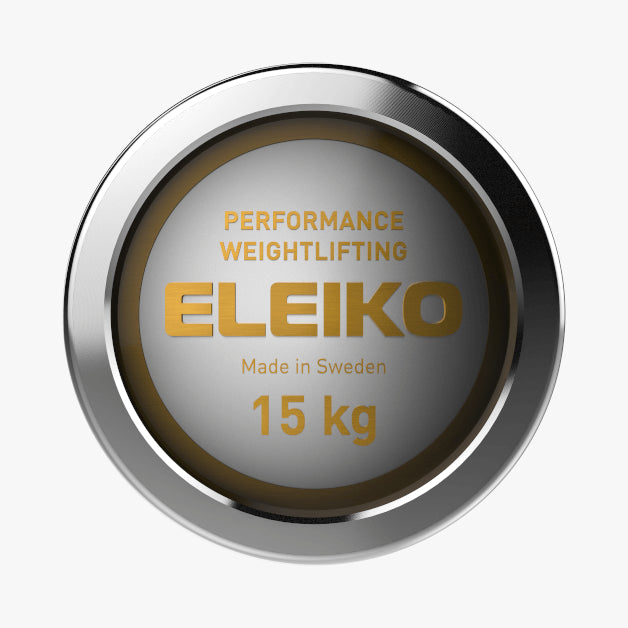 Eleiko Performance<br>Weightlifting Bar, NxG 15 kg