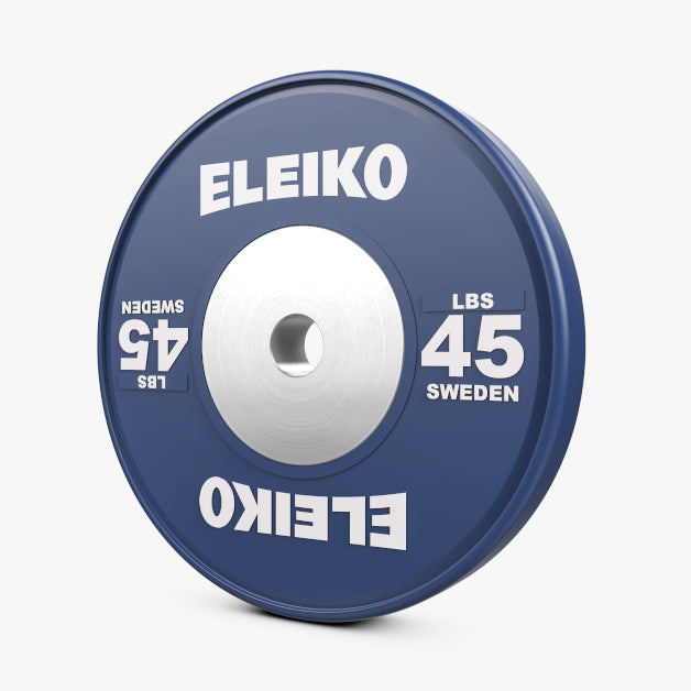 ELEIKO OLYMPIC WEIGHTLIFTING TRAINING DISCS - LBS