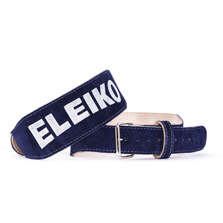 Eleiko Weightlifting Belt - Blue Suede