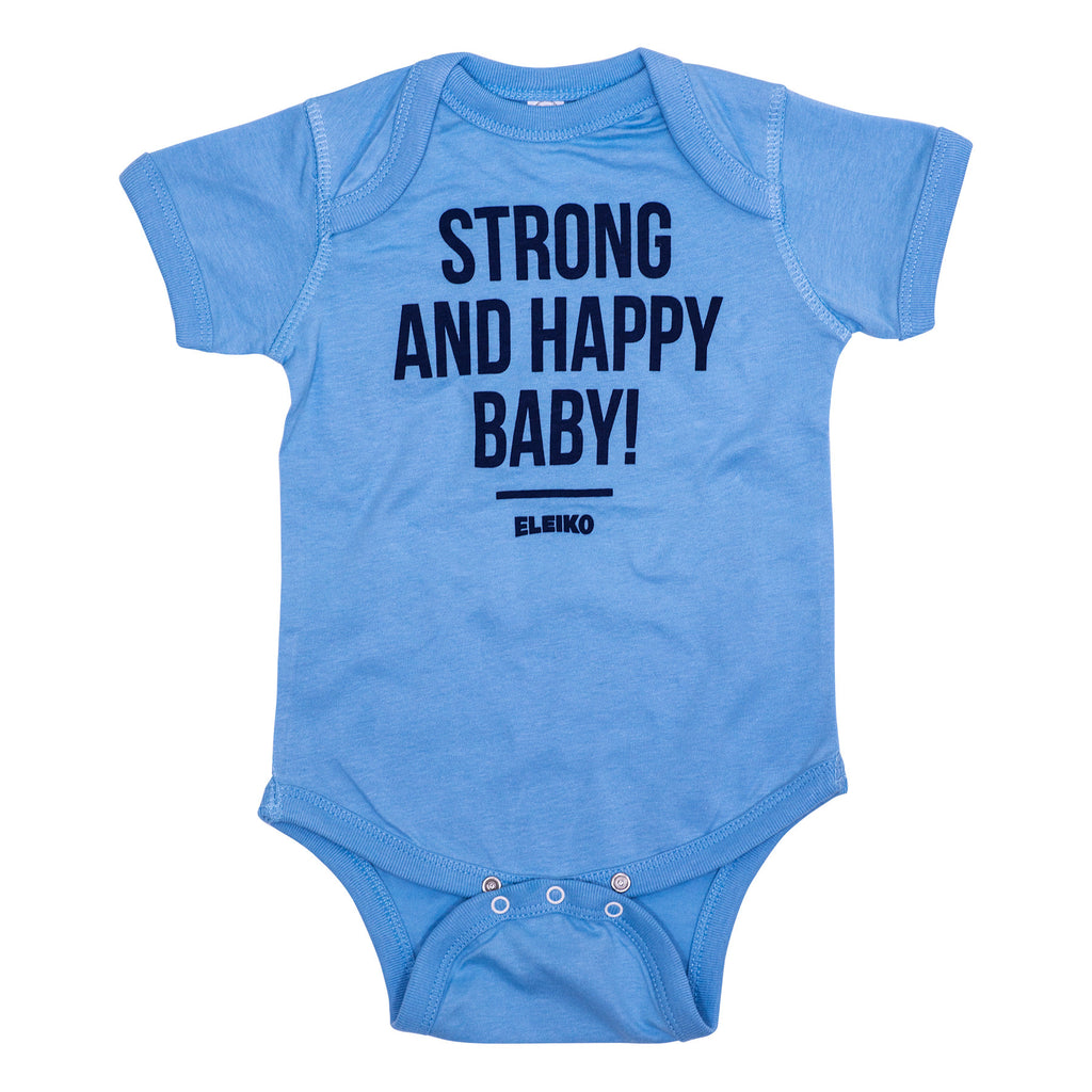 Eleiko Strong & Happy Baby Singlet