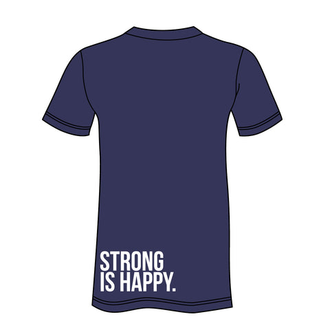 "CLOSEOUT Eleiko ""Strong is Happy - Lower Back"" T-Shirt"
