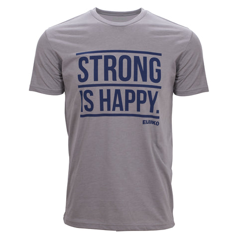 "Eleiko ""Strong is Happy - Front"" T-Shirt"
