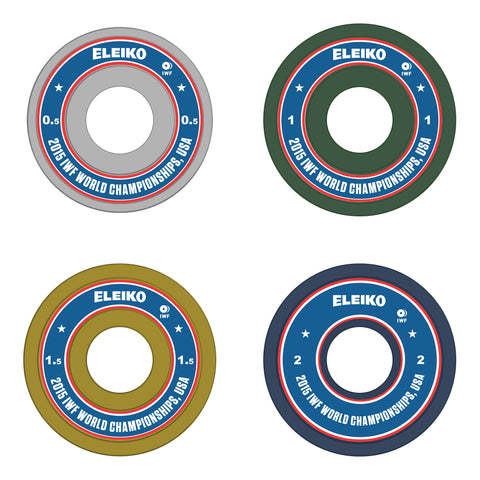 2015 IWF World Championships Commemorative Friction Grip Discs