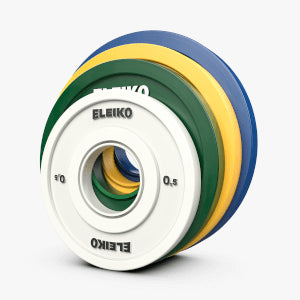 ELEIKO IWF WEIGHTLIFTING FRICTION GRIP COMPETITION DISCS