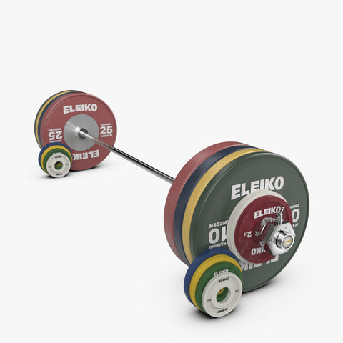 ELEIKO IWF WEIGHTLIFTING TRAINING<br>SET NXG - 185 KG, RC