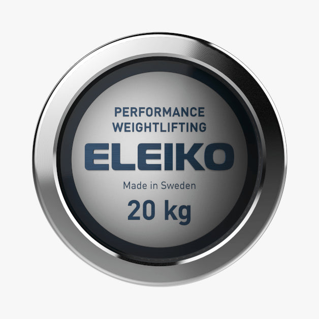 Eleiko Performance<br>Weightlifting Bar, NxG 20 kg