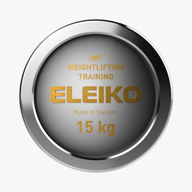 Eleiko IWF Weightlifting<br>Training Bar, NxG 15kg Women