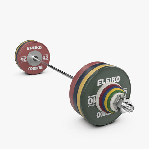 ELEIKO IWF WEIGHTLIFTING TRAINING<br>SET NXG - 190 KG, RC