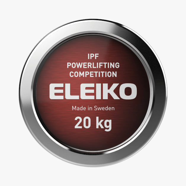 Eleiko IPF Powerlifting <br>Competition Bar NxG 20 kg