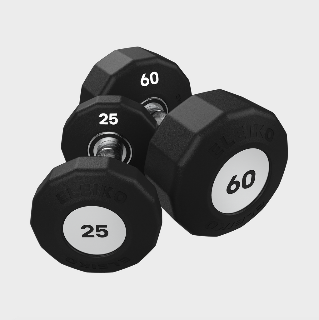 Eleiko Evo Dumbbells - Rotating