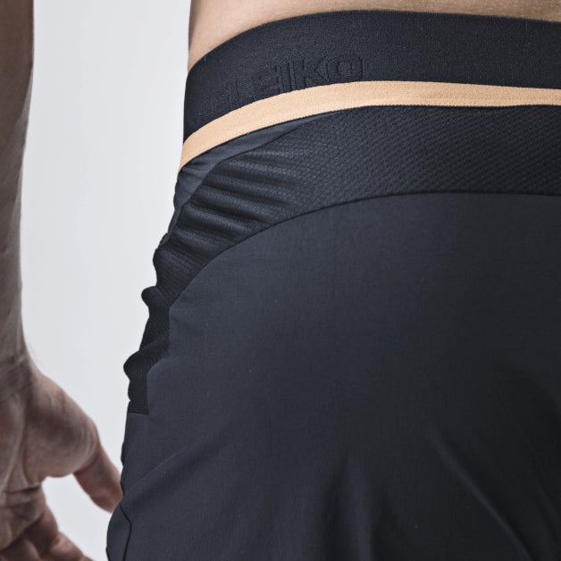 Elevate Shorts <br>Jet Black