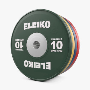 ELEIKO IWF WEIGHTLIFTING TRAINING DISCS