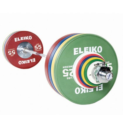 Eleiko Olympic Weightlifting Training Set - NxG - POUNDS