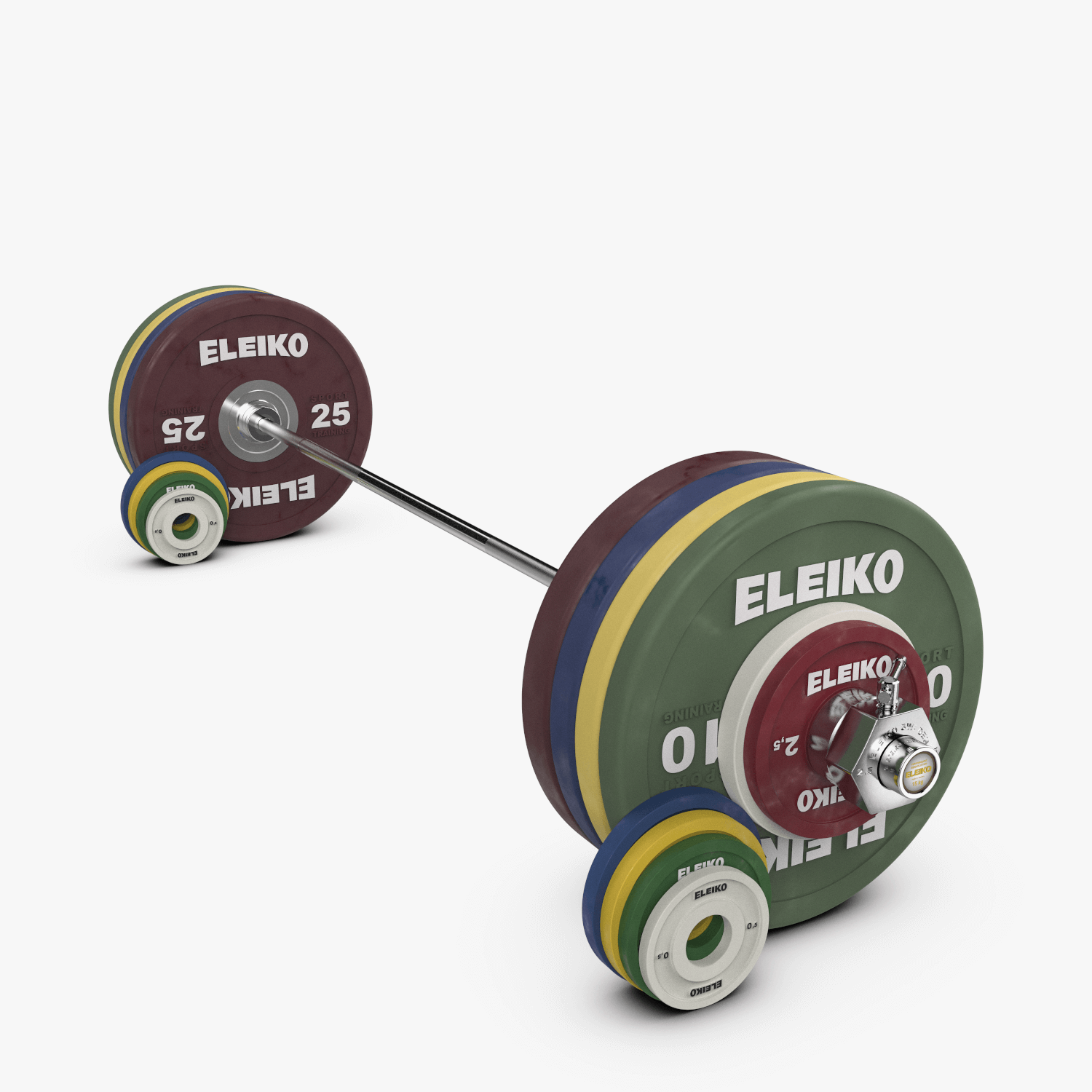 ELEIKO IWF WEIGHTLIFTING COMPETITION<br>SET NXG - 185 KG, FG