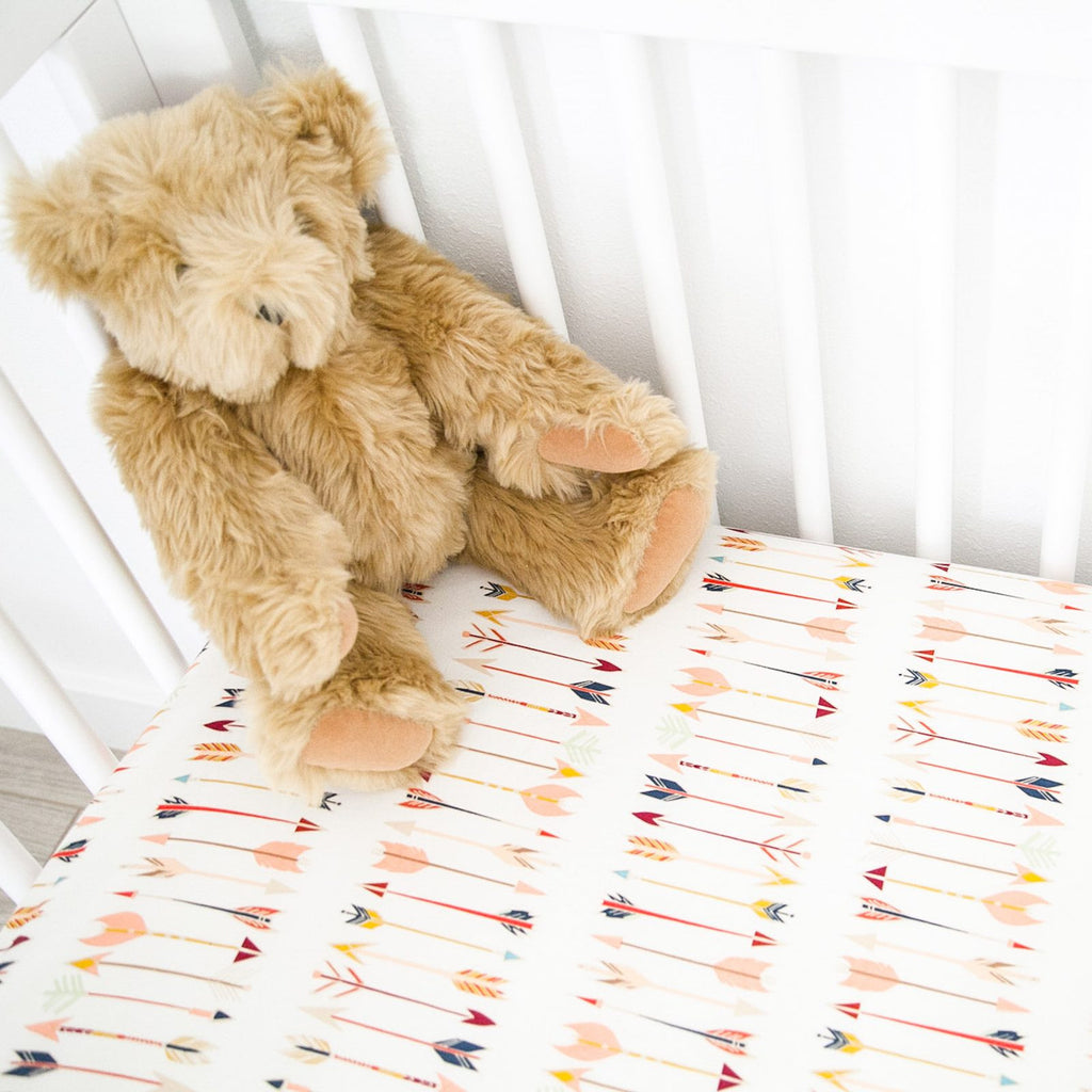 Fitted Crib Sheet - Arrows