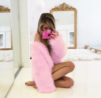 Glam Fur Coat - 10 colors - Awesome World - Online Store  - 2