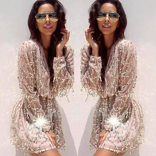Sequins Glam Romper - Awesome World - Online Store  - 4