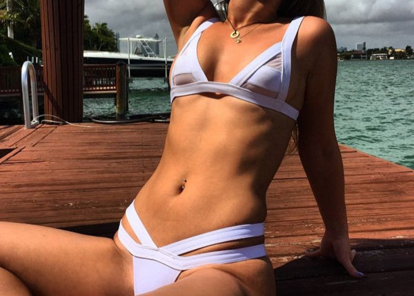 Sensual Hollow Out Bikini - Awesome World - Online Store  - 22