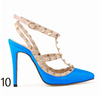 12 cm Heel Bright Rivets Pumps - 10 colors - Awesome World - Online Store  - 14
