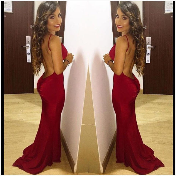 The Red Backless Dress - Awesome World - Online Store  - 10