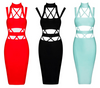 Cut Out Strappy Bandage Dress - 3 colors - Awesome World - Online Store  - 8