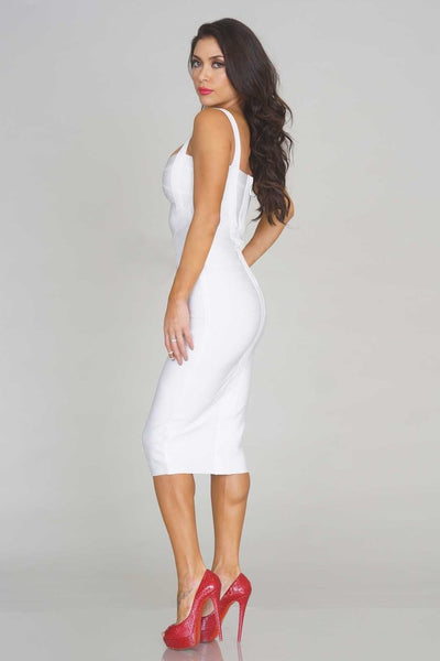 Sleekin' Out Thigh Bandage Dress - 11 colors - Awesome World - Online Store  - 18