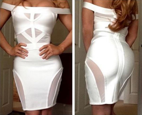 Transparent Bandage Dress - 2 colors - Awesome World - Online Store  - 4