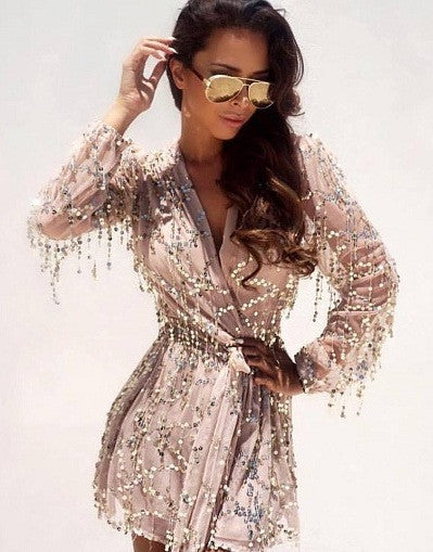 Sequins Glam Romper - Awesome World - Online Store  - 1