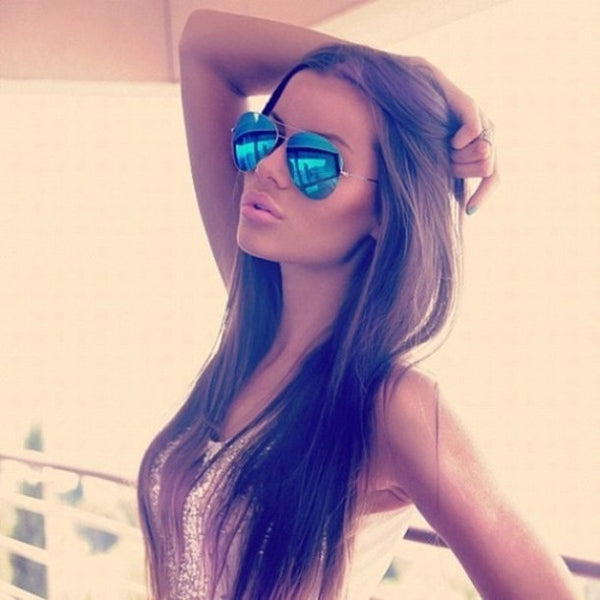 Mirrored Aviators Sunglasses - 7 Colors - Awesome World - Online Store  - 14