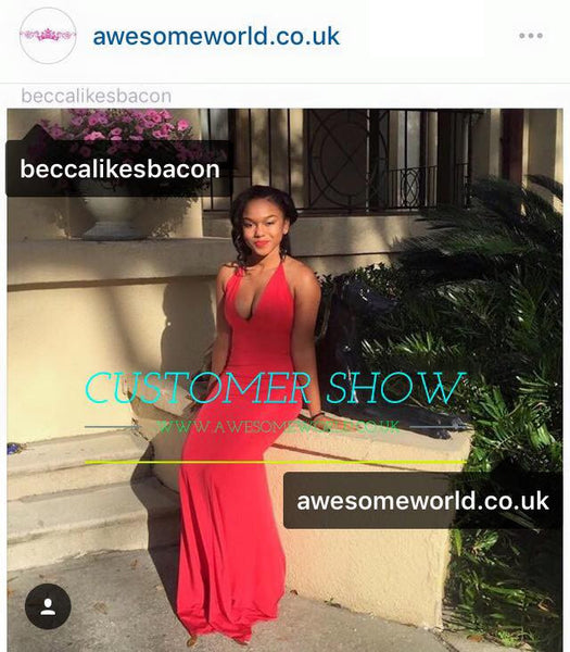 All Eyes on You Red Dress - Awesome World - Online Store  - 7