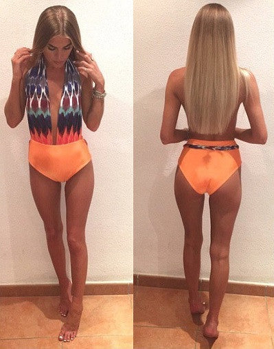 Paradise Backless Swimsuit - Awesome World - Online Store  - 2