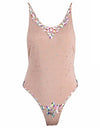 Glam Summer Bodysuit & Swimsuit - Nude
